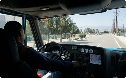 truck driving school in fontana ca